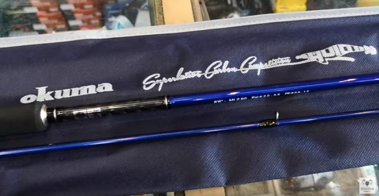 คันสีฟ้า Okuma Pro K1